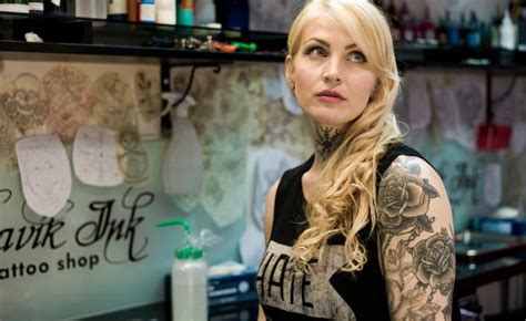tattoo shop girl job getting inked in iceland the best tattoo shops in