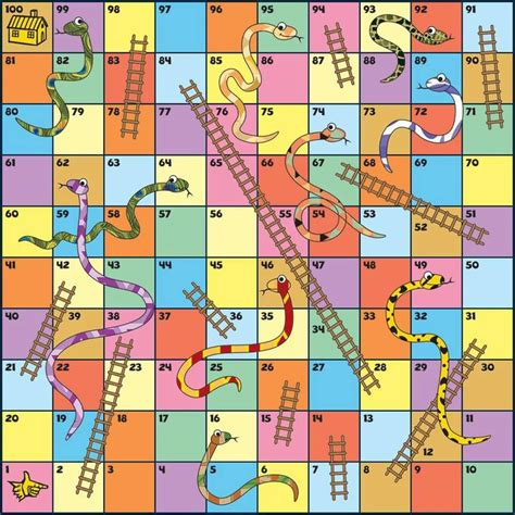 printable snakes and ladders template snakes and ladders template found at https www