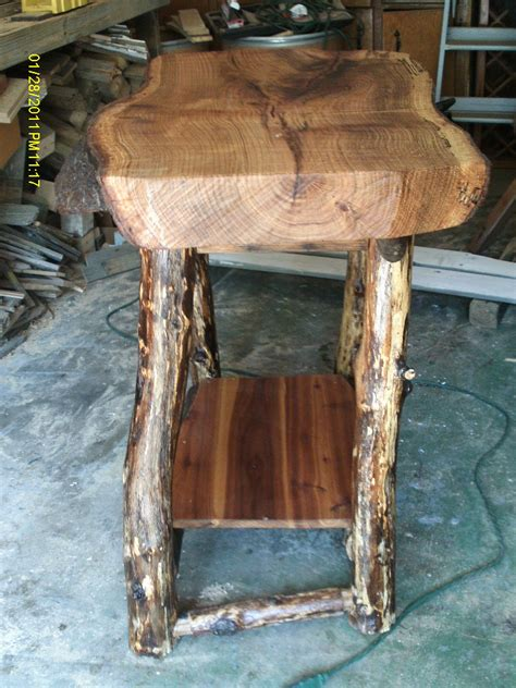 Handmade Log Furniture - handmade rustic log furniture june 2012