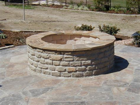 building fire pit in backyard building a firepit and patio area calgarypuck forums the