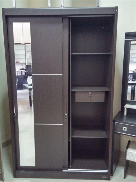 Lemari Pakaian Sliding Door furniture jepara furniture kayu mebel minimalis pengrajin