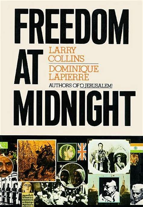 midnight books freedom at midnight by dominique lapierre larry