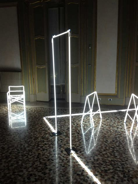 Light Installation by Massimo Uberti Neon Light Installations Yellowtrace