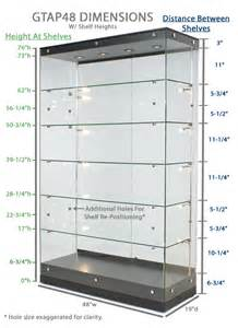 Display Cabinet Glass Thickness Award Display Silver Painted Finished Trophy Cabinet