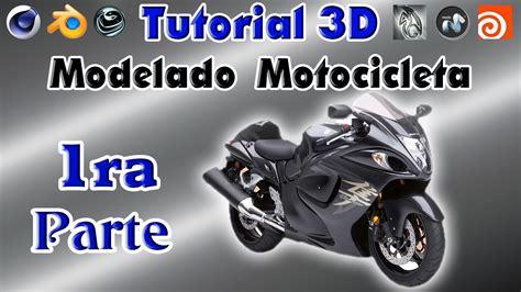 tutorial hayabusa 3d modeling tutorial cinema 4d modelado de motocicleta