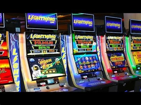 lightning link slot machine   game bonuses youtube
