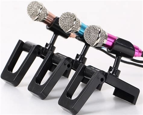mini smartphone 3 5mm microphone with mic stand golden jakartanotebook