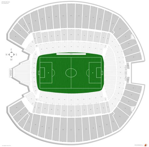 centurylink field seating map centurylink field soccer seating guide rateyourseats