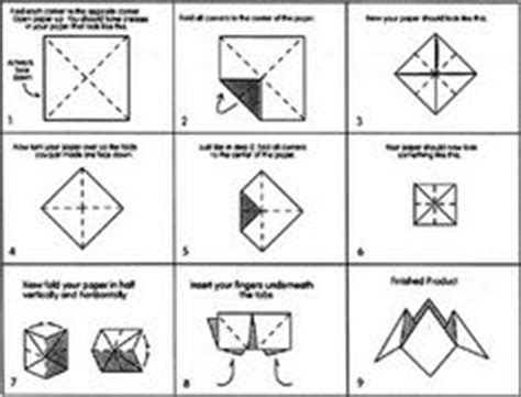 How Do You Make A Paper Chatterbox - 1000 images about cootie catchers on catcher
