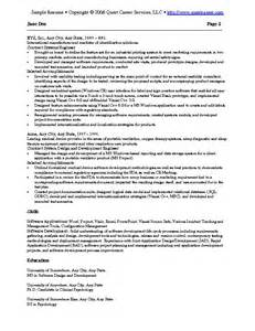 Software Exles For Resume by Sle Resume Exle 2 It Resume Software Development Resume Technical Resume