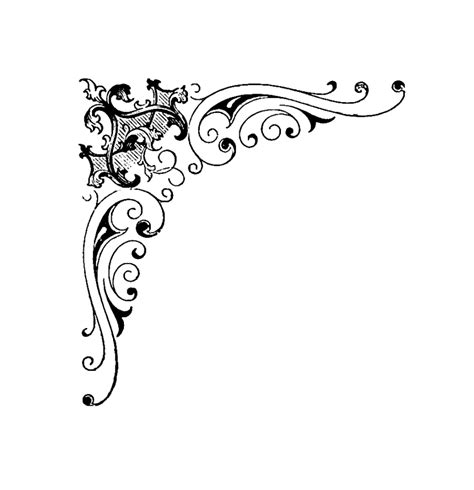 scroll pattern png corner scroll designs clipartion com