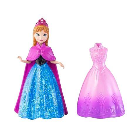 Doll Dress Gaun Busana Dress Boneka Ori Import jual disney frozen magic clip doll w dress original item harga kualitas