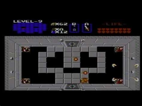 legend of zelda map bosses the legend of zelda nes final boss youtube