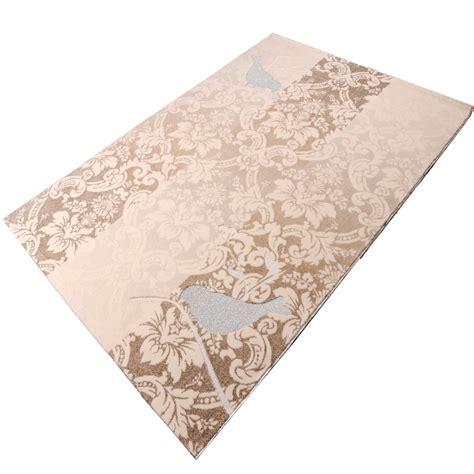 cardin teppich teppich cardin asos creme vogel 160x230 cm