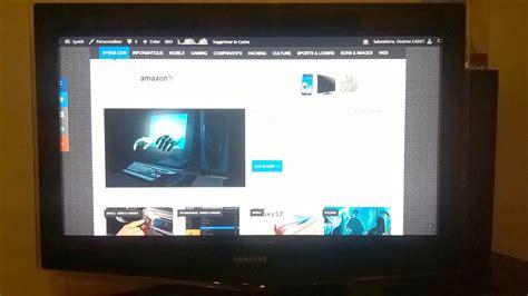 Tv Votre surfer sur sur votre tv avec la chromecast