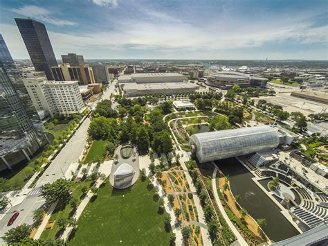 Okc Myriad Gardens by 6 Finalists Announced For Uli S 2015 Open Space