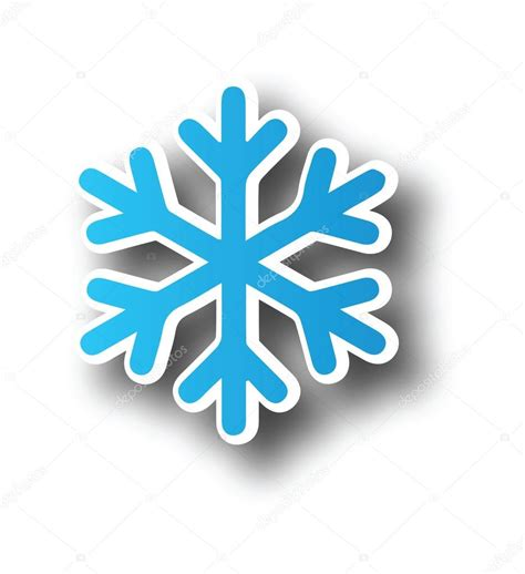 clipart neve fiocco di neve icona clipart vettoriali stock 169 kozzi2