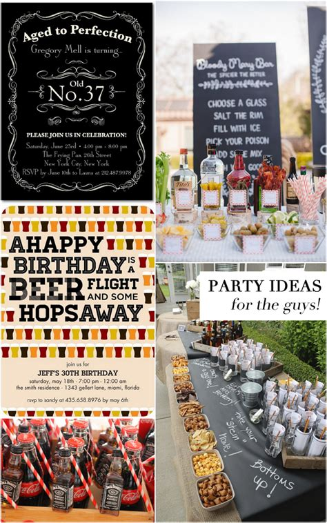 adult birthday party themes adult birthday party ideas adult birthday party ideas for the guys pizzazzerie