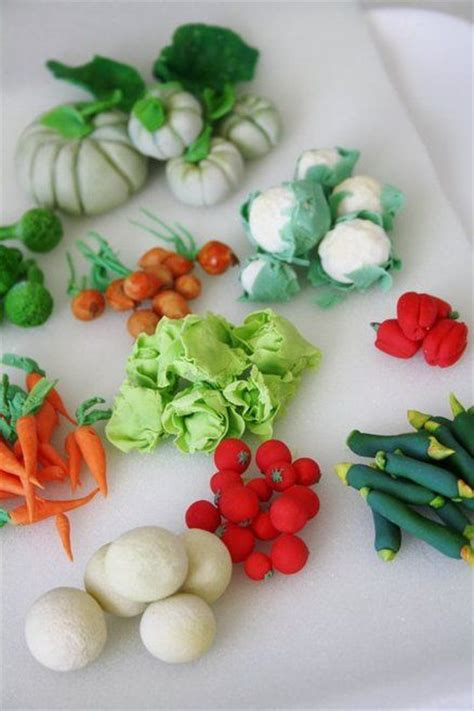 17 best images about fondant fruit vegetables on