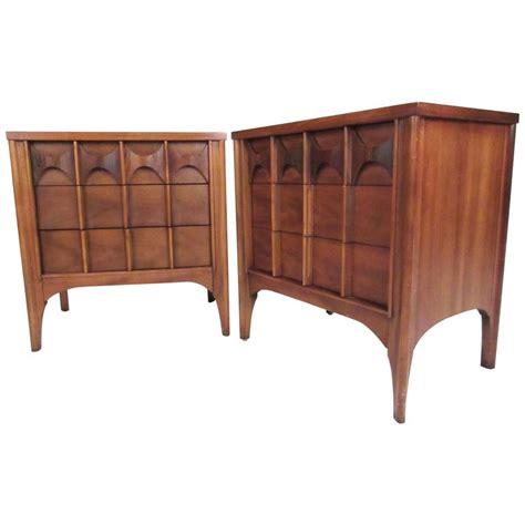 kent coffey bedroom furniture kent coffey quot perspecta quot series walnut nightstands for sale