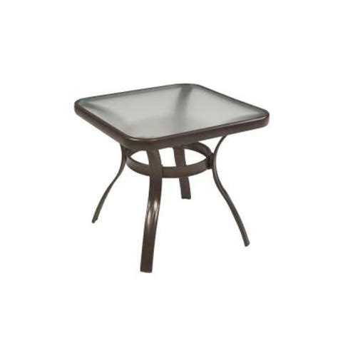Martha Stewart Patio Table Martha Stewart Living Grand Bank Patio Side Table D4067 Ts The Home Depot