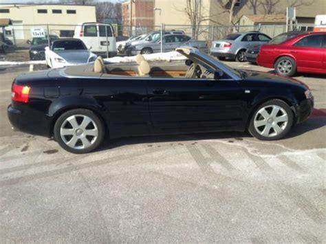 2006 audi a4 fuel buy used 2006 audi a4 cabriolet convertible 2 door 1 8l