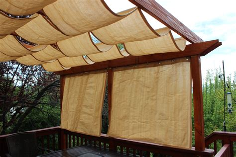 pergola with fabric diy pergola jandbmarvin