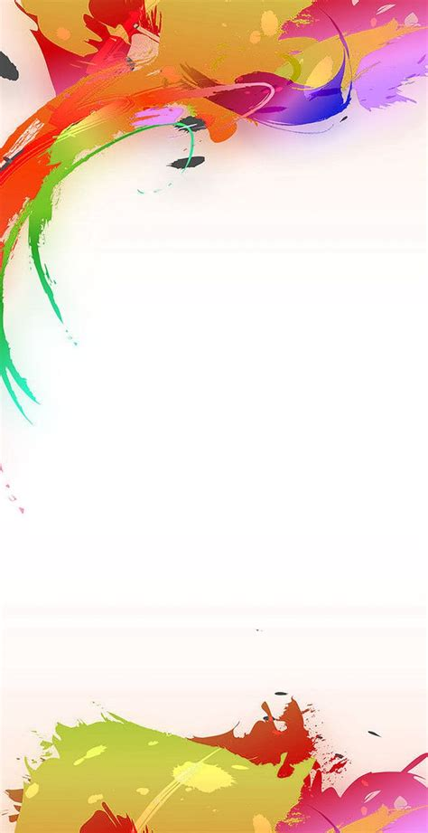 exquisite  color display rack creative poster design