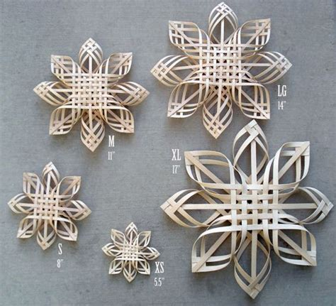 pattern for woven snowflake ornament pinterest the world s catalog of ideas