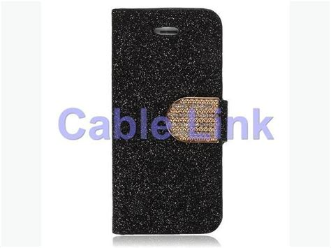 Flip Cover Bling For Iphone 5c bling flip magnetic wallet leather for apple iphone