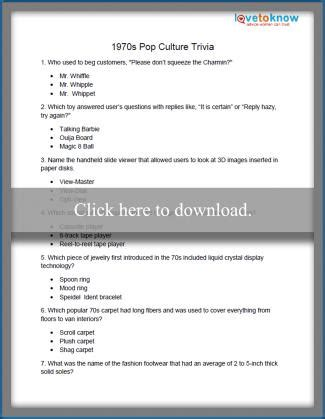 quiz questions no answers printable fun trivia questions lovetoknow