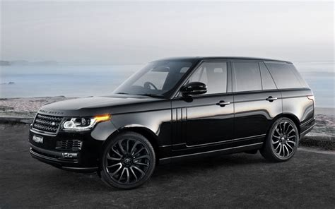 luxury black range rover wallpapers land rover range rover vogue 2016