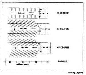 Parking Garage Design Standards Parking Garage Plan Dimensions 220 58 Off Street Parking