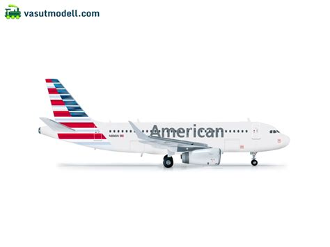 Herpa Air Airbus A319 H527026 herpa 556330 american airlines airbus a319 vasutmodell