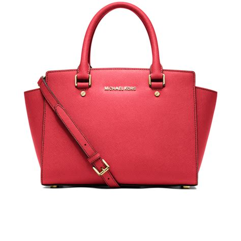 Michael Kors Coral Tote by Michael Michael Kors S Selma Medium Tote Bag Coral