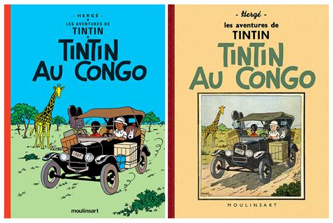 libro tintin au congo les application tintin la version n b de quot tintin au congo quot