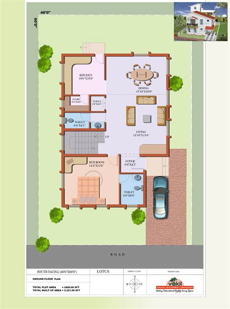 house plan for south facing plot with two bedrooms south facing house floor plans escortsea