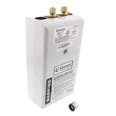 tankless water heater electrical connection sp3012 eemax sp3012 sp3012 single point electric