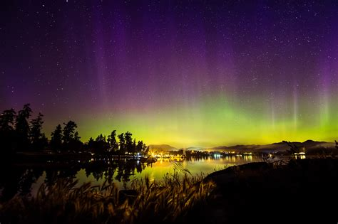aurora borealis northern lights tonight vancouver island may see the northern lights this weekend