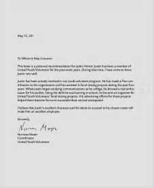 personal letter of recommendation template sle personal reference letter 7 documents in pdf word