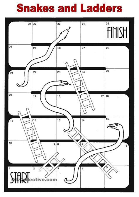 snakes and ladders ingl 233 s snake