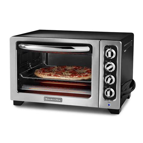 Kitchenaid Microwave Grill Kitchenaid Kco222ob 12 Quot Countertop Oven W Bake Broil