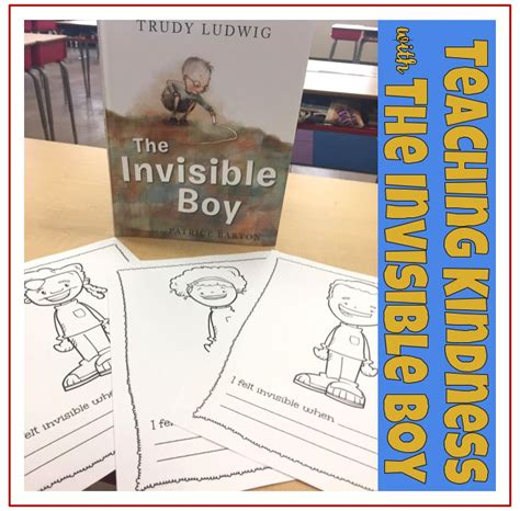 the invisible boy have you ever read the invisible boy by trudy ludwig it is a heartwarming picture book about