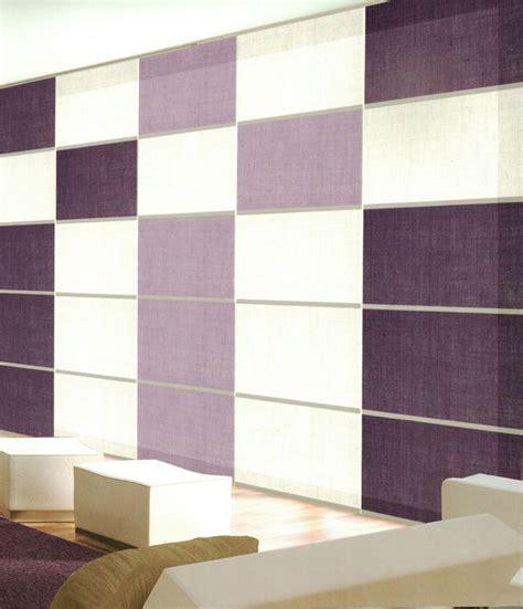 tende a pannelli moderne 50 esempi di tende a pannello moderne per interni