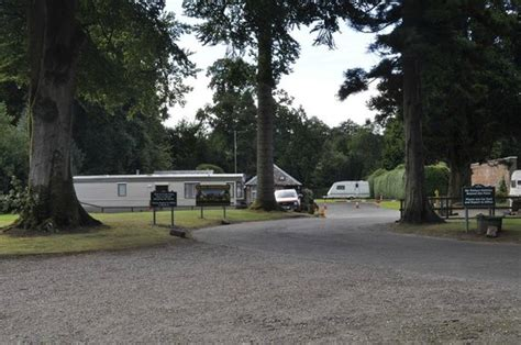 Walled Garden Caravan Park It S Set In And Around The Walled Garden Picture Of