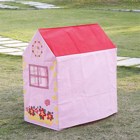play tent house childrens my house play tent pink