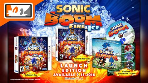 Kaset 3ds Sonic Boom sonic boom 3ds launch edition announced for america playable at e3 2016