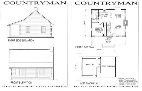 cabin blueprints floor plans cabins cabin cheap house plans 58797