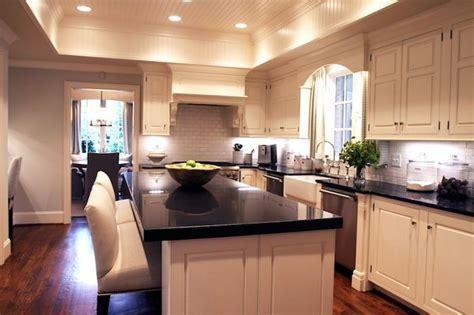 black beadboard kitchen cabinets tray beadboard ceiling creamy white kitchen cabinets
