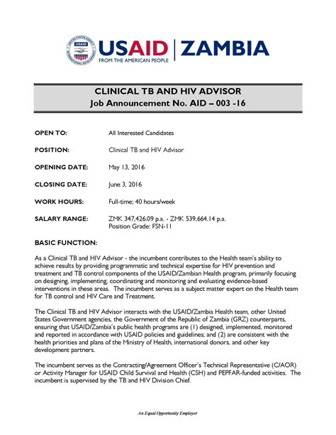 usaid cv template clinical data management overseas exle resume